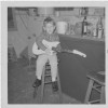 Kevin warming up on a bar stool for tonight's rehearsal, circa 1968. (Takes me a while to warm up)